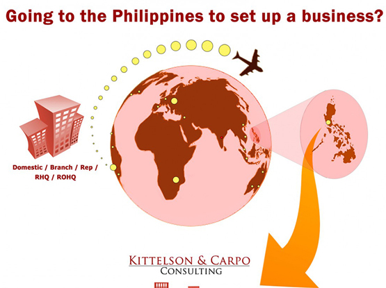 Going to the Philippines to set up a business