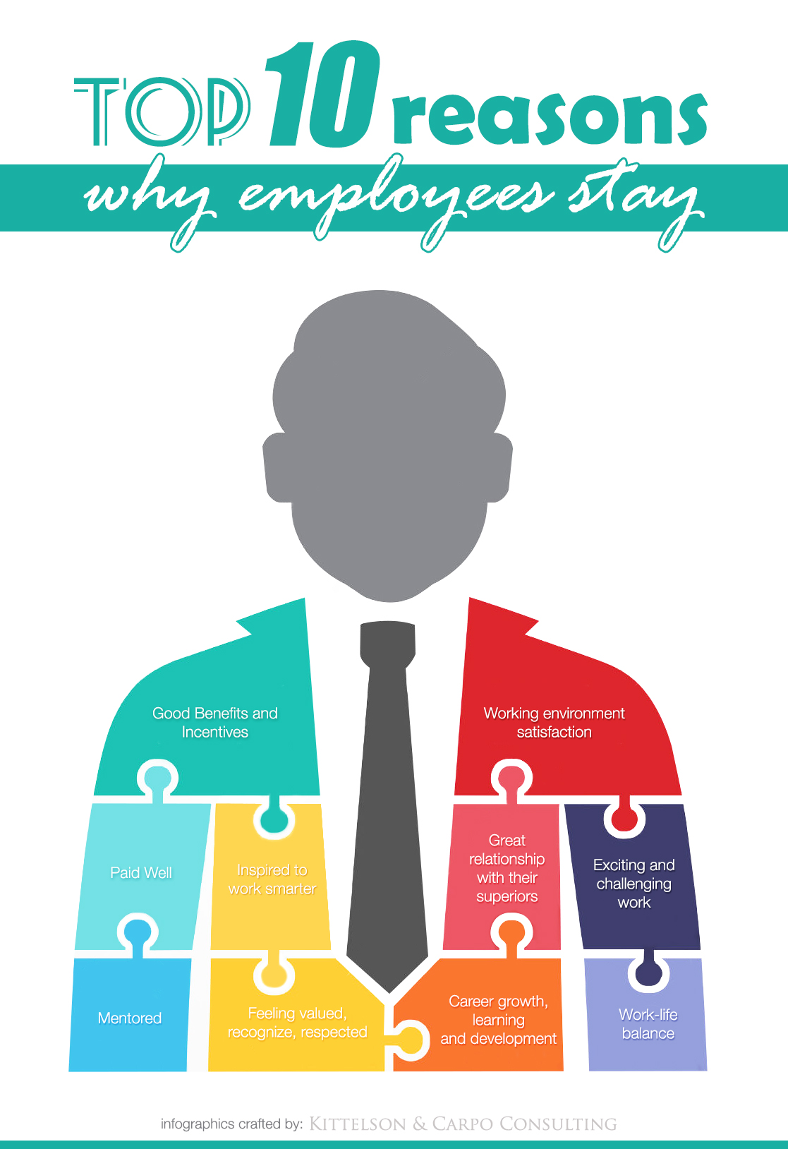 Top 10 reasons why employees stay