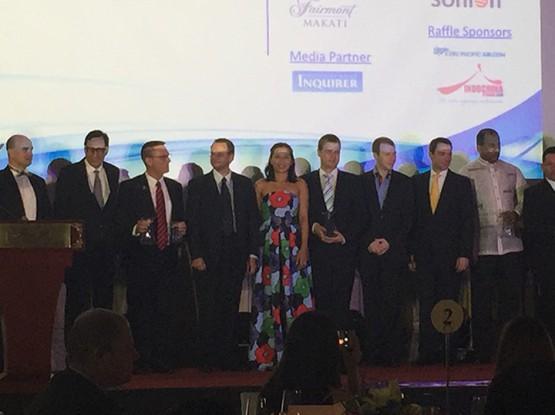 Atty Amanda Carpo with NBCP awardees
