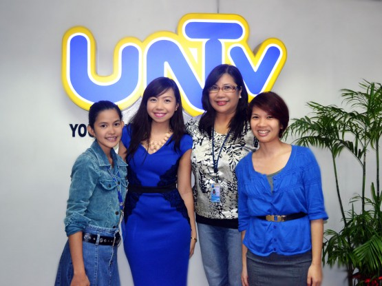 Atty. Diana Guesting at UNTV