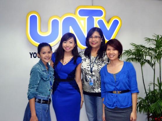 Atty. Diana Guesting at UNTV