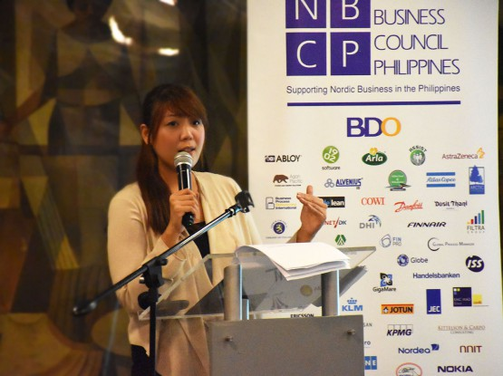 Atty Trisha Cruz - NBCP Event