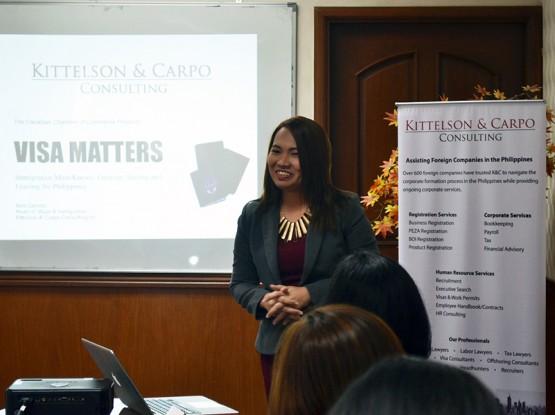 Visa Matters Forum - Ms Ann Garrido 3