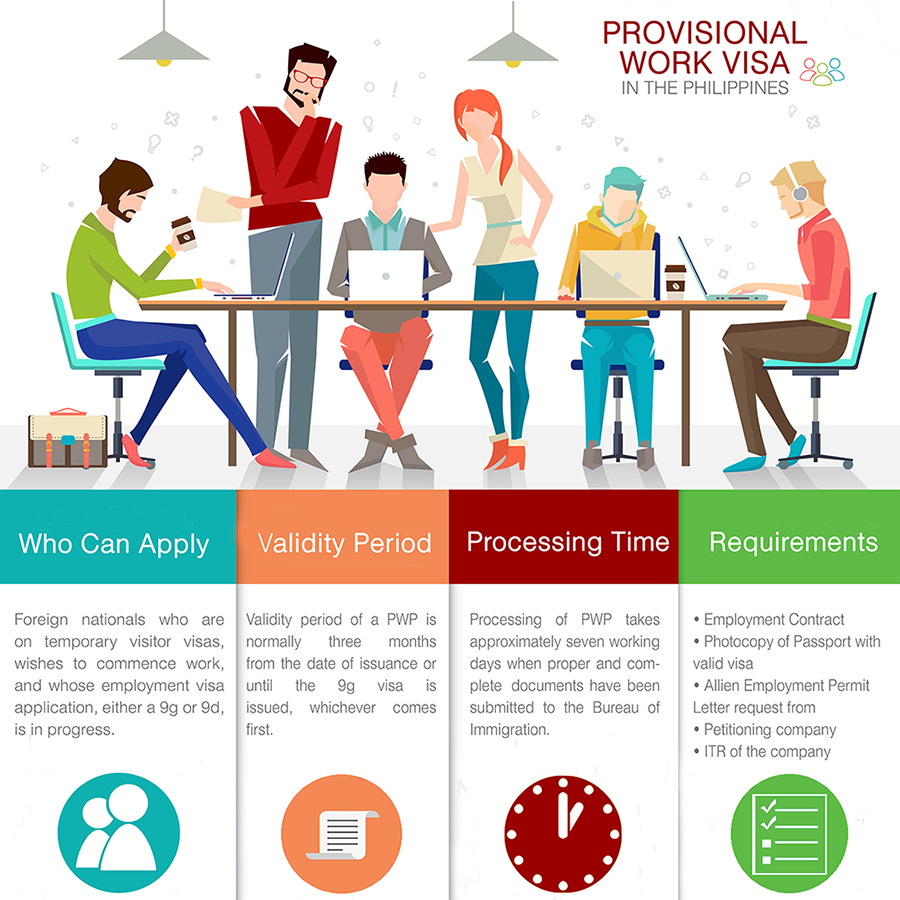 Provisional Work Visa in the Philippines