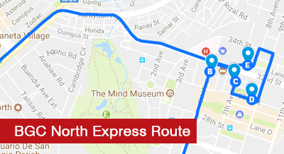 BGC North Express Route
