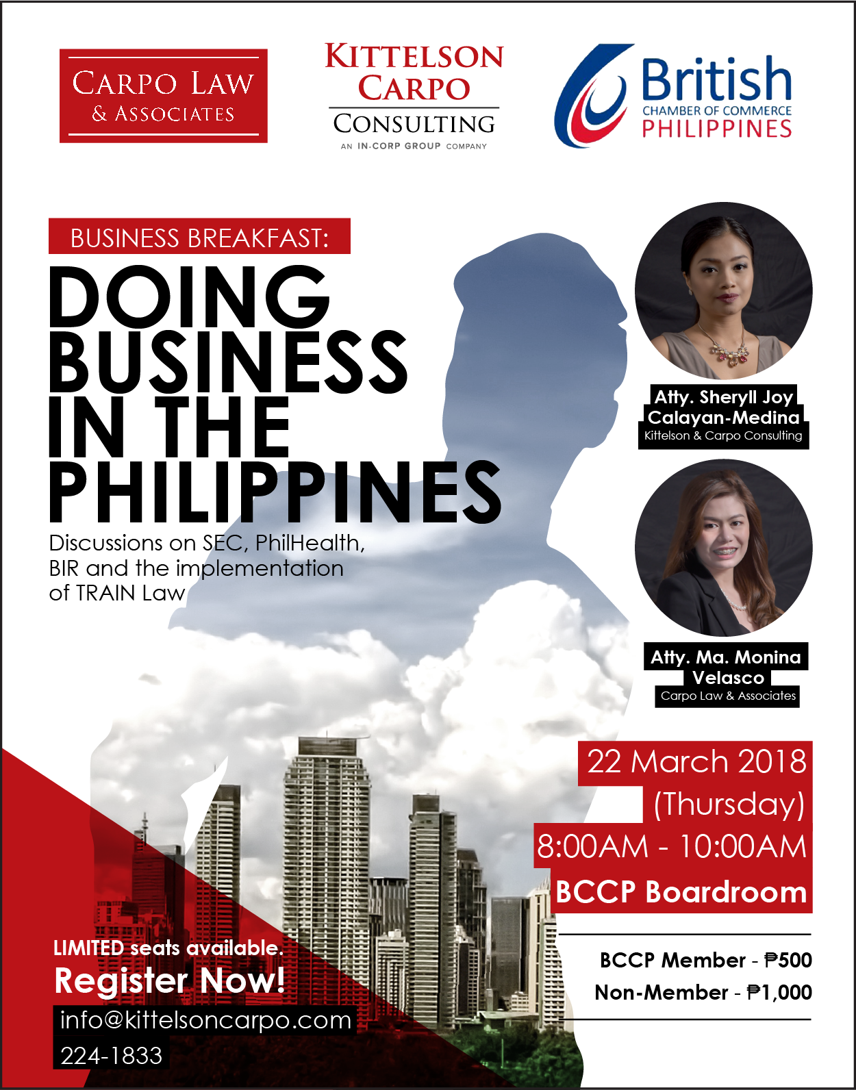 Business Breakfast: Doing Business in the Philippines