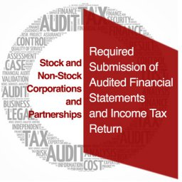 Required Submission of Audited Financial Statements and Income Tax Retur