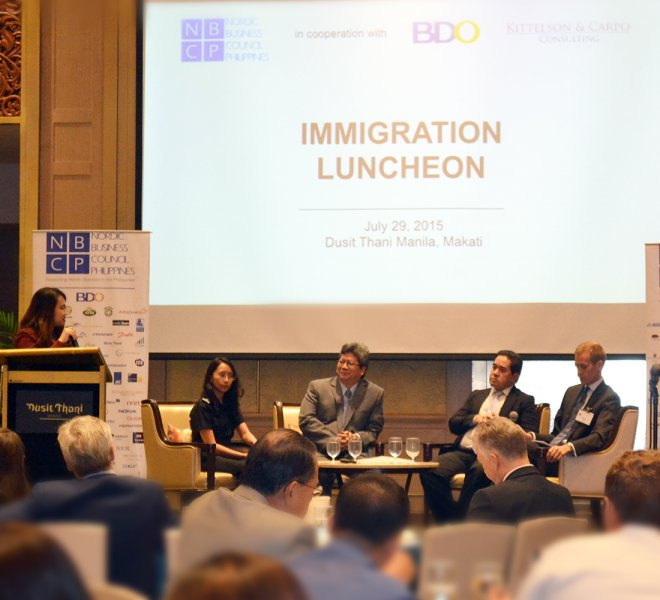 Immigration Luncheon with the Bureau of Immigration