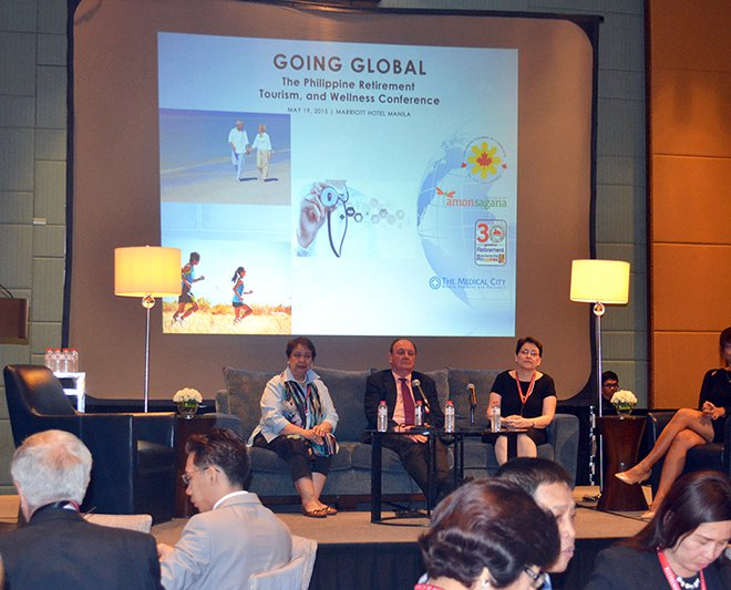Going Global - The Philippine Retirement, Tourism, and Wellness Conference - Speaker Atty. Trish Cruz of Kittelson & Carpo Consulting