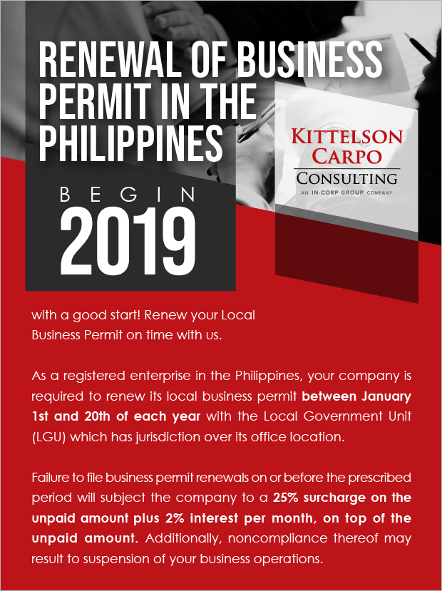 Business Permit Renewal 2019