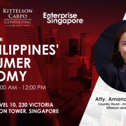 The Philippines' Consumer Economy - Atty. Amanda Carpo
