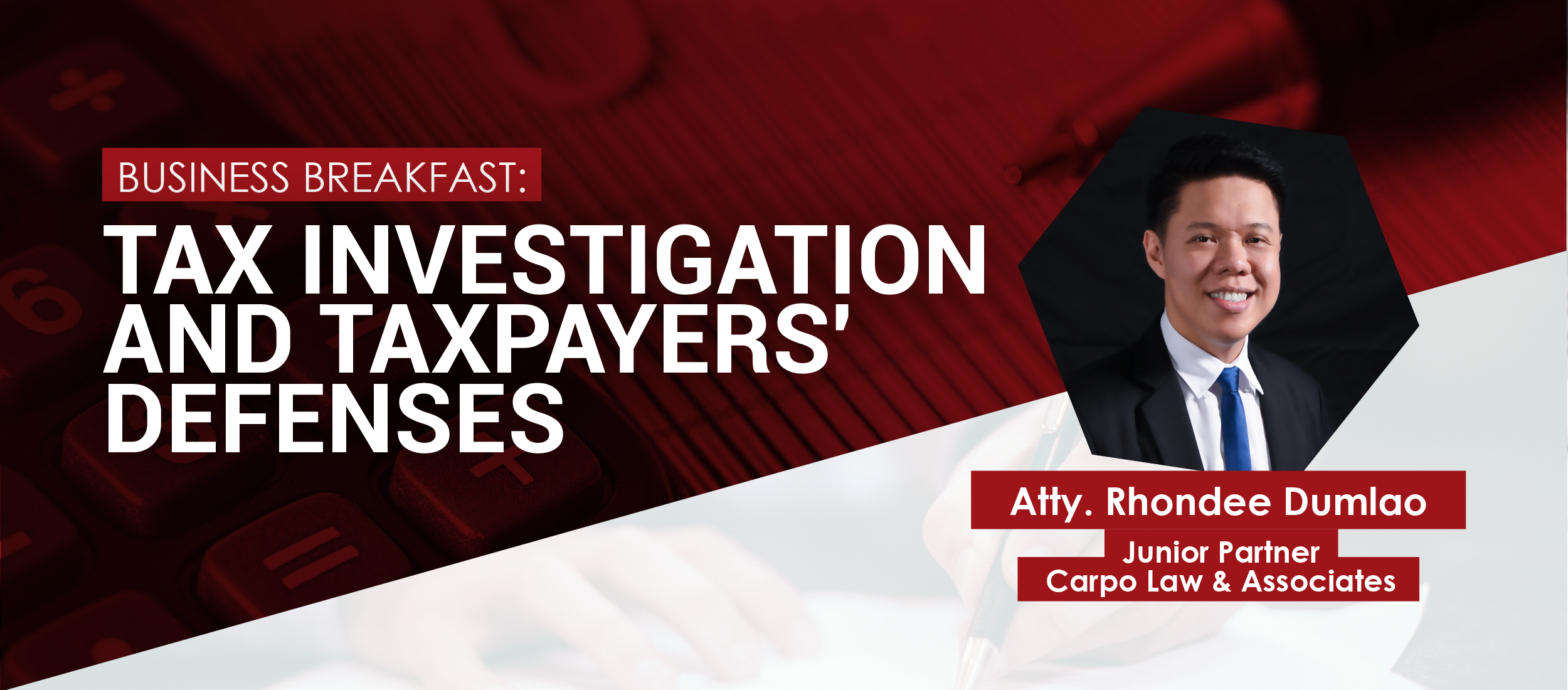 Tax Investigation and Taxpayers Defenses