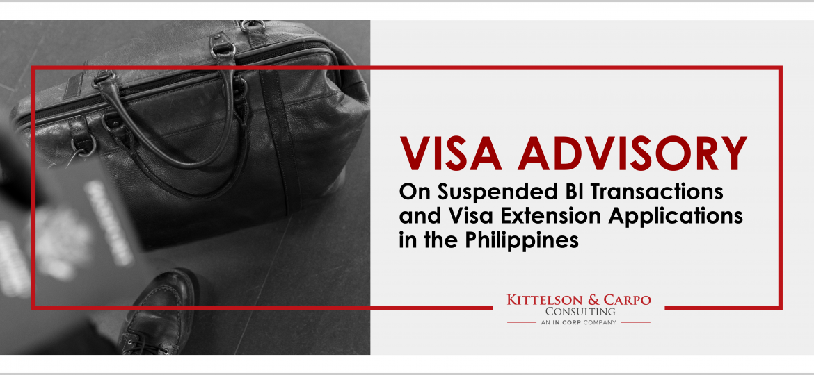 Temporary Suspension BI Transactions