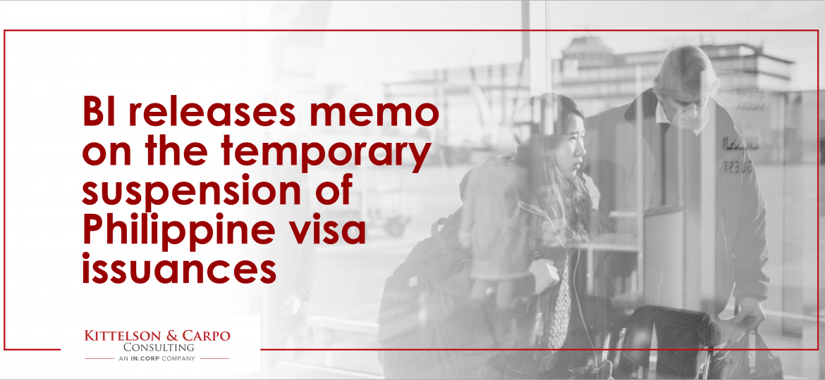BI Temporary Suspension Visa Issuance