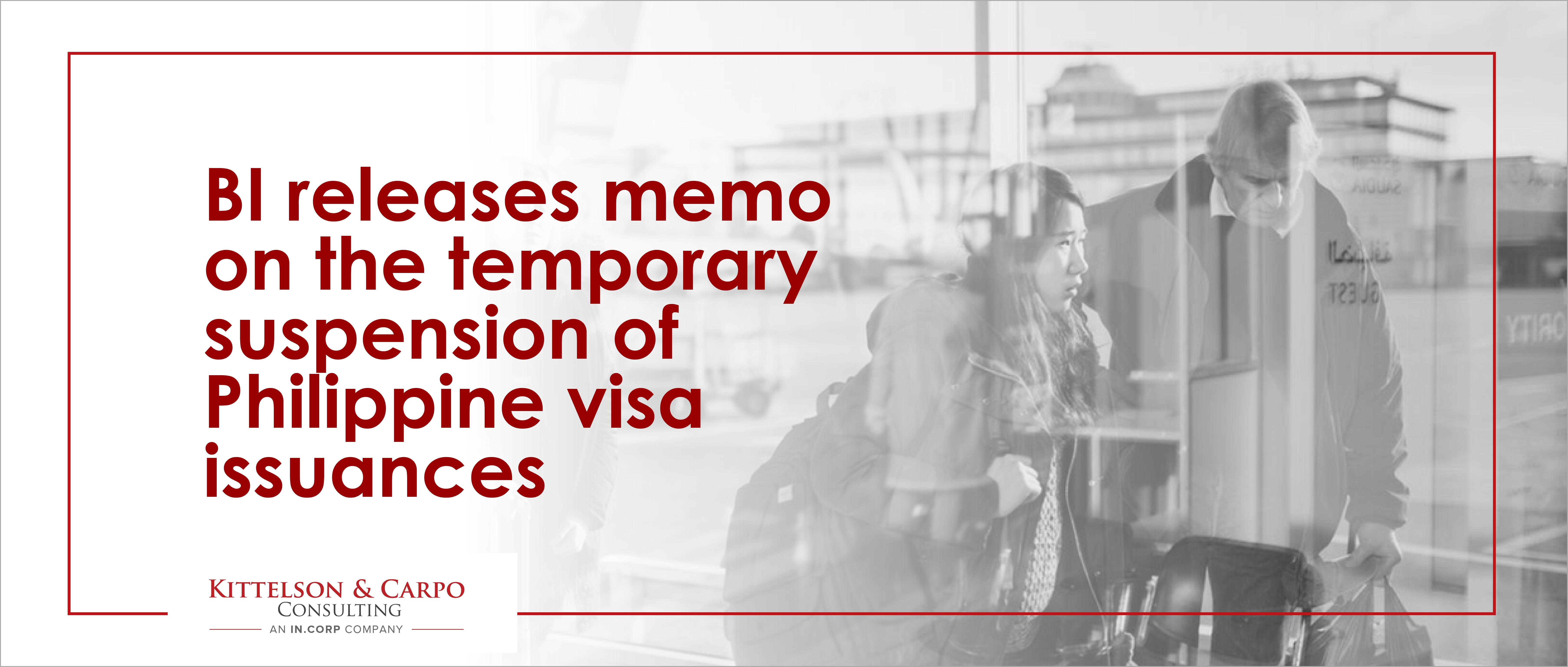 BI Temporary Suspension Visa Issuance