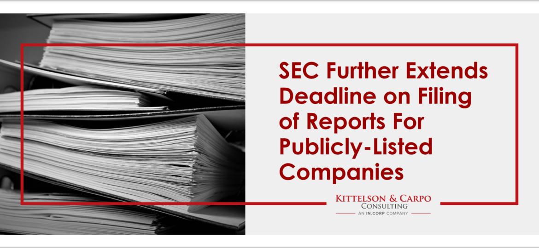 SEC Extended Deadlines