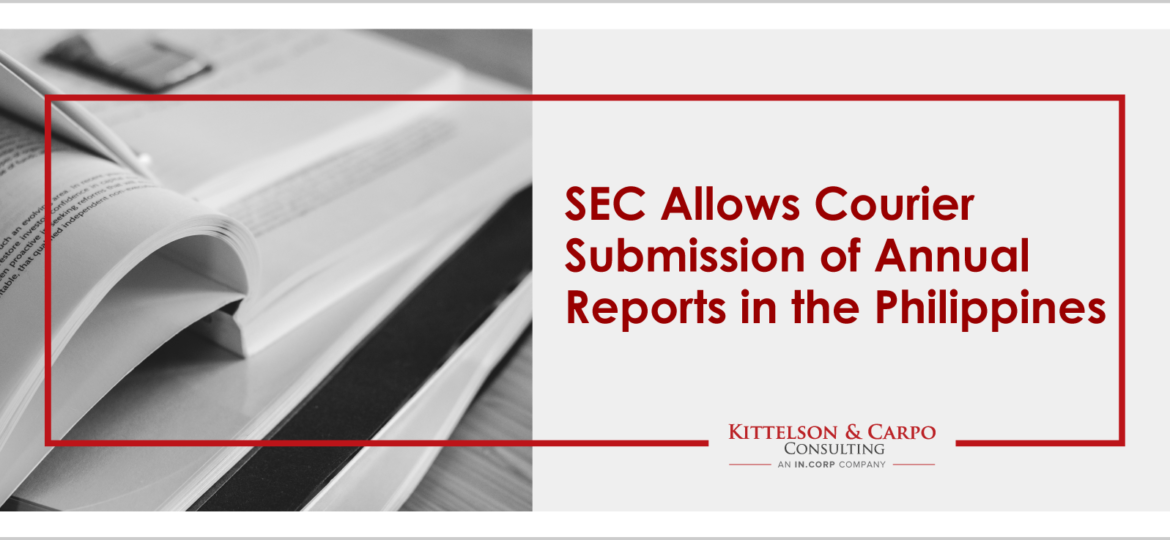 SEC Courier Submission Annual Report