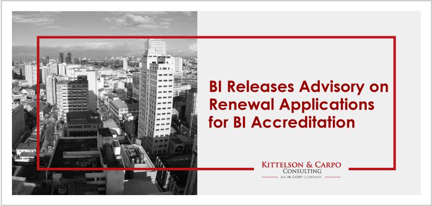 BI Accreditation Philippines