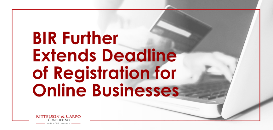BIR Registration Deadline Online Business