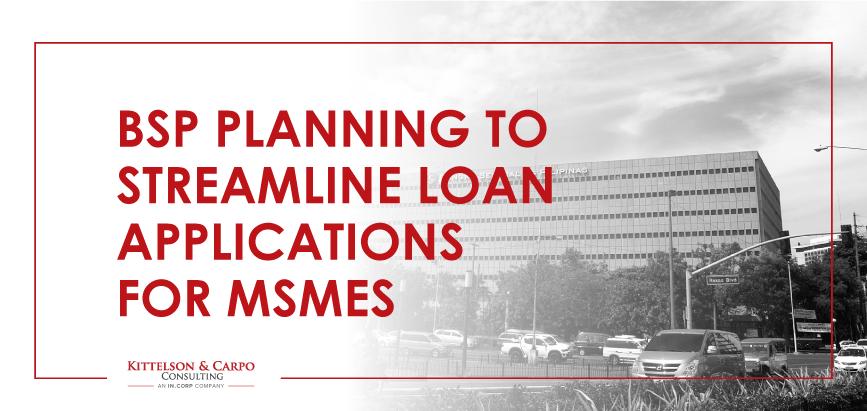 BSP Loan MSMEs