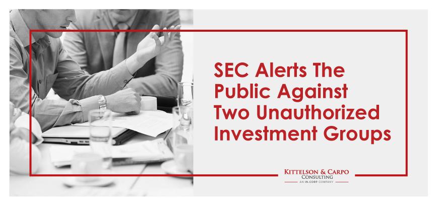 SEC Unauthorized Investments