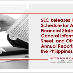 SEC Filing Schedule Annual Report