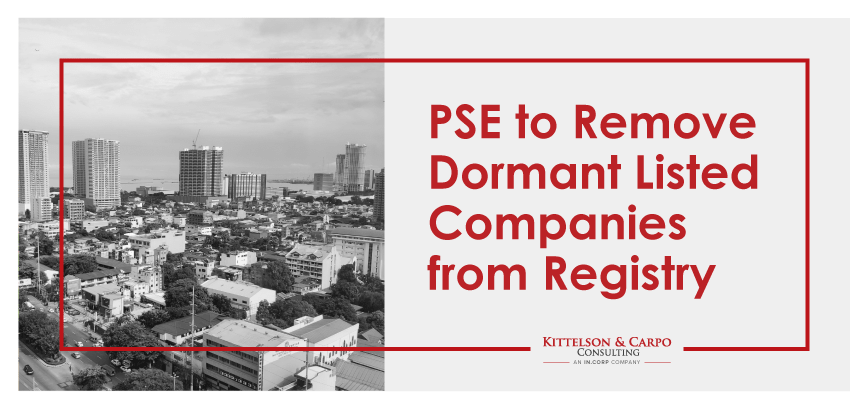 PSE Dormant Listed Companies