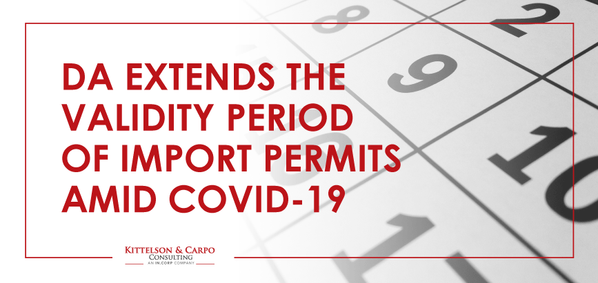 DA Import Permits