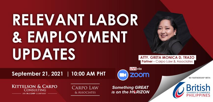 Labor Updates 2021 Header